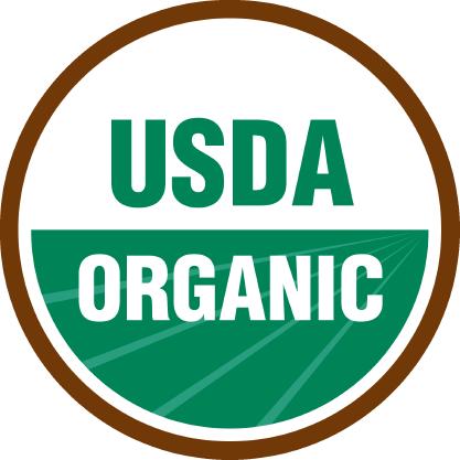 USDA Organic food label icon