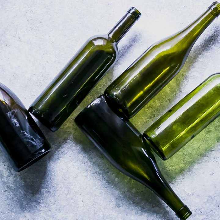 How to Clean Labels From Wine Bottles