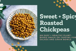 Video thumbnail: Sweet and Spicy Roasted Chickpeas