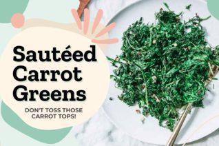 Video thumbnail: Sauteed Carrot Greens